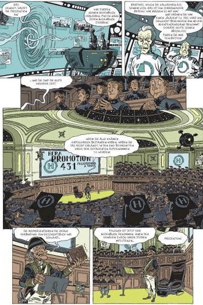 Leseprobe 2 von Die Zeitbrigade, Band 1 - An fremden Gestaden