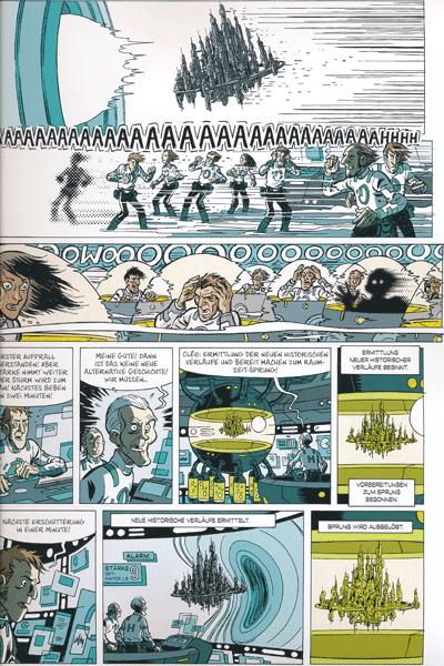 Leseprobe 1 von Die Zeitbrigade, Band 2 - Die grosse Armada