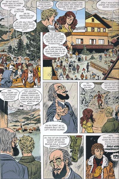 Leseprobe 3 von LUC ORIENT, Band 7 - Der Krater des Verderbens