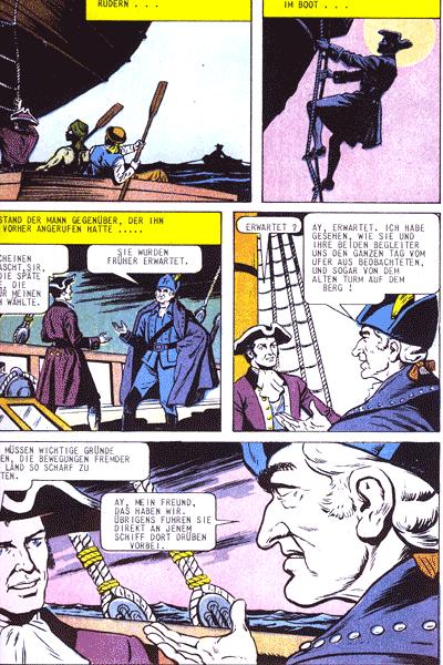 Leseprobe von Illustrierte Klassiker (Softcover), Band 52 - Der rote Freibeuter