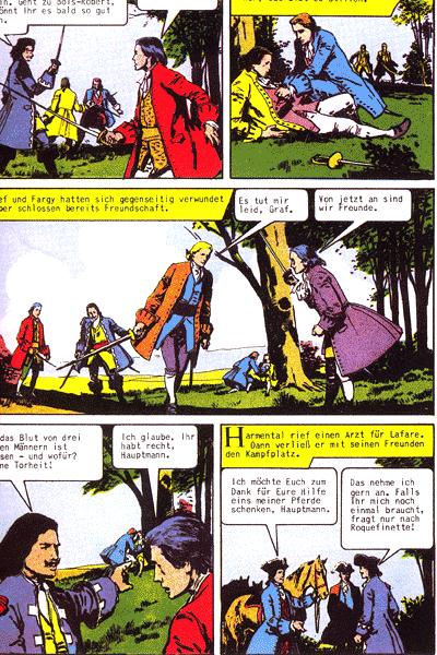 Leseprobe von Illustrierte Klassiker (Hardcover), Band 13 - Der Chevalier von Harmental