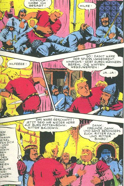 Leseprobe von Bild Abenteuer (1989), Band 7 - Falk - Bingo in der Klemme, . . .