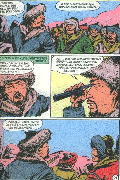 Leseprobe von Bild Abenteuer (1989), Band 12 - Sip Conway - Der geheimnisvolle Saphir, . . .