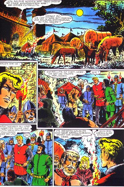 Leseprobe von Sigurd - Sonderband (1991) , Band 3 - Der vergiftete Dolch