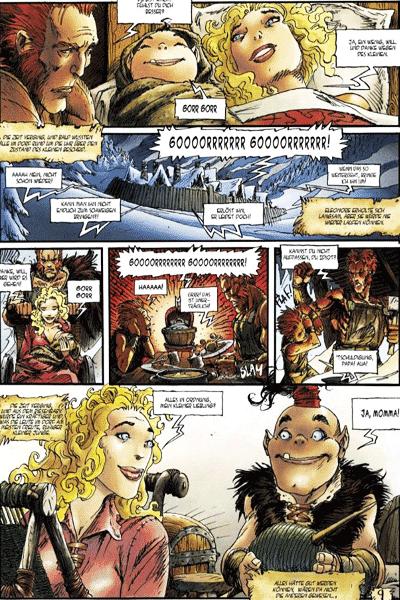 Leseprobe 3 von Die Geheimnisse des schwarzen Mondes (HC), Band 1 - Ghorghor Bey