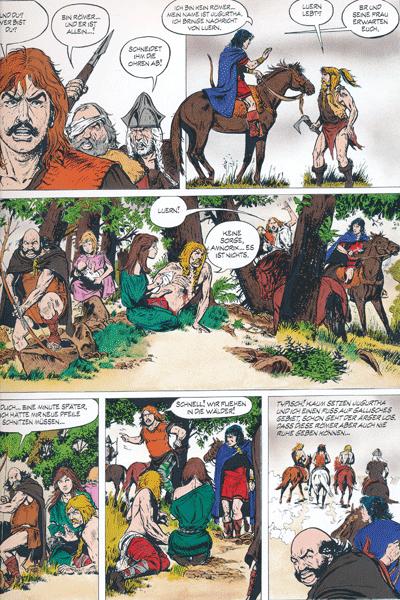 Leseprobe 1 von JUGURTHA Gesamtausgabe, Band 2 - Der Kampf um die sieben Hügel