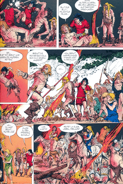Leseprobe 2 von JUGURTHA Gesamtausgabe, Band 2 - Der Kampf um die sieben Hügel