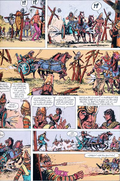 Leseprobe 3 von JUGURTHA Gesamtausgabe, Band 2 - Der Kampf um die sieben Hügel