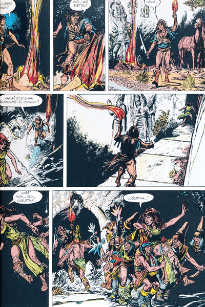 Leseprobe 4 von JUGURTHA Gesamtausgabe, Band 2 - Der Kampf um die sieben Hügel