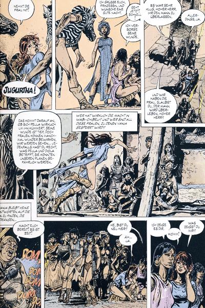 Leseprobe 1 von JUGURTHA Gesamtausgabe, Band 3 - Der Zebra-Zauberer