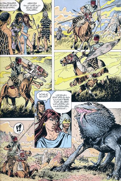 Leseprobe 3 von JUGURTHA Gesamtausgabe, Band 3 - Der Zebra-Zauberer