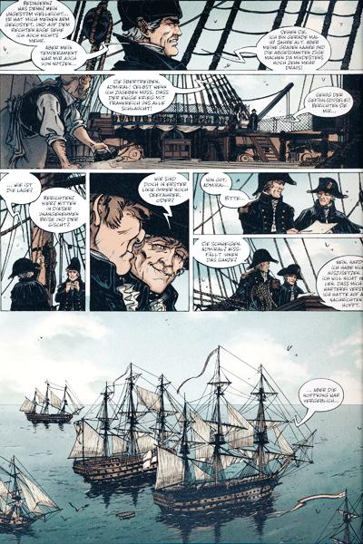 Leseprobe 4 von Die großen Seeschlachten, Band 1 - Trafalgar 1805