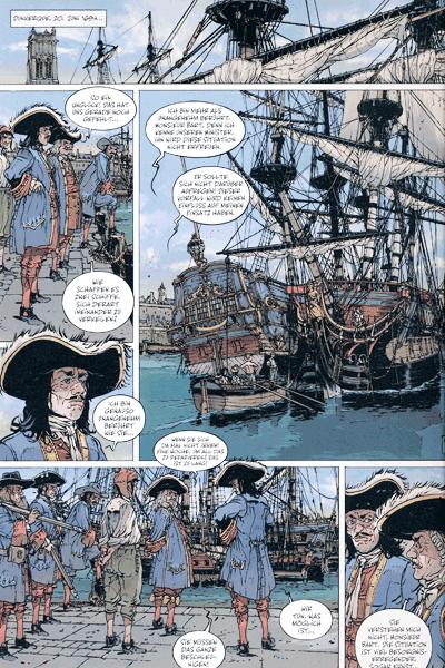 Leseprobe 2 von Die großen Seeschlachten, Band 6 - Texel