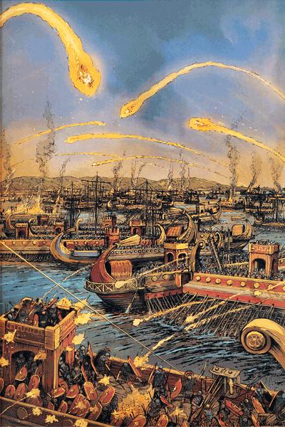 Leseprobe 4 von Die großen Seeschlachten, Band 11 - Actium