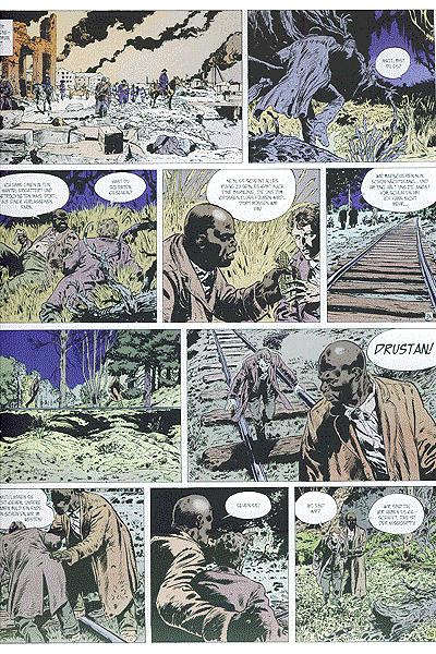 Leseprobe von Der PLANWAGEN des Thespis, Band 1 - Shakespeare und Muerte Kid