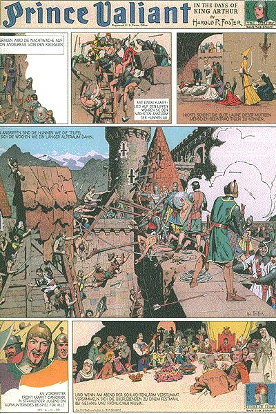 Leseprobe von Prinz Eisenherz Hal Foster, Band 2 - Jahrgang 1939, 1940