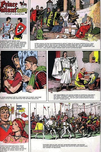 Leseprobe von Prinz Eisenherz Hal Foster, Band 12 - Jahrgang 1959, 1960