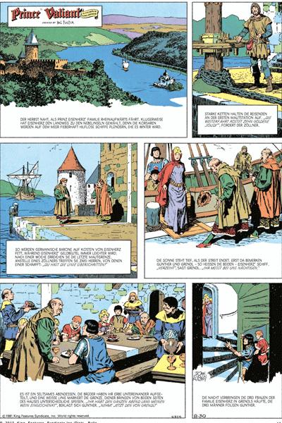 Leseprobe von Prinz Eisenherz - Die Murphy - Jahre, Band 6 - Jahrgang 1981, 1982