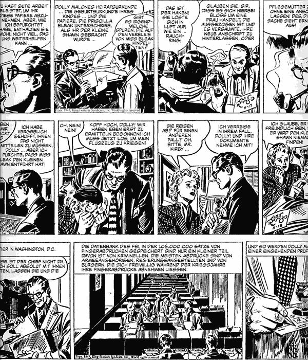 Leseprobe 2 von RIP KIRBY [Alex Raymond] [comic Gesamtausgabe], Band 2 - Comicstrips von 1947 - 1948