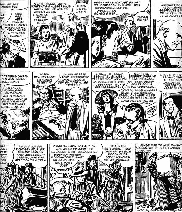 Leseprobe 3 von RIP KIRBY [Alex Raymond] [comic Gesamtausgabe], Band 2 - Comicstrips von 1947 - 1948
