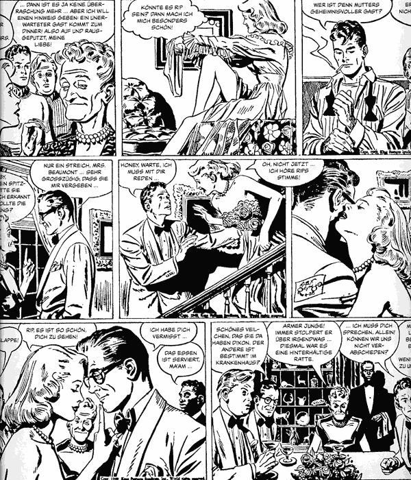 Leseprobe 3 von RIP KIRBY [schwarzweiß] [comicfinten], Band 3 - Comicstrips (1948-1950)