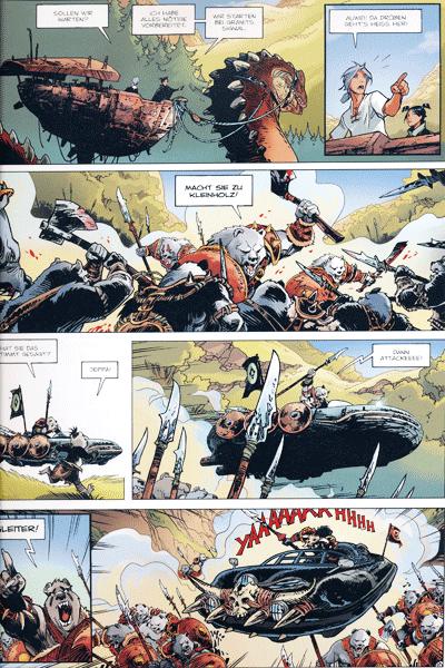 Leseprobe 1 von Die Schiffbrüchigen von YtHAQ, Band 14 - Das Juwel des Genies