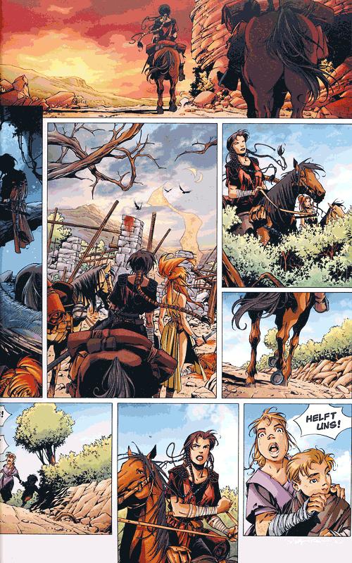 Leseprobe von Die Legende der Drachenritter, Band 1 - Jaina
