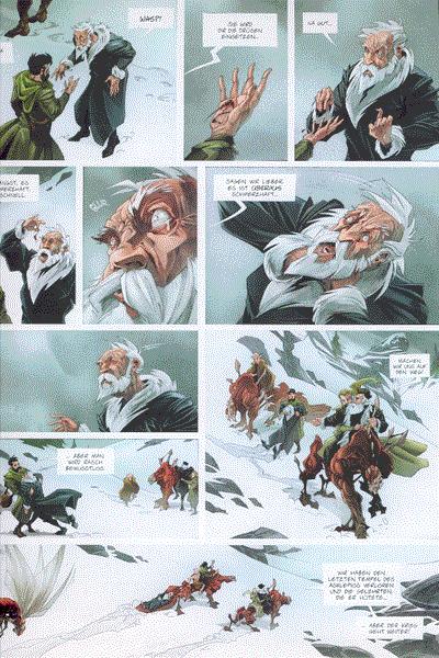Leseprobe von Das Einhorn Comic, Band 2 - Ad Naturam