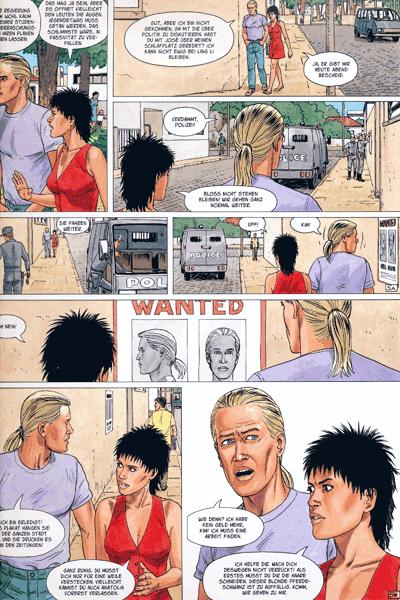 Leseprobe 1 von ALDEBARAN Comic, Band 4 - Die Gruppe