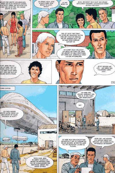 Leseprobe 2 von ALDEBARAN Comic, Band 4 - Die Gruppe