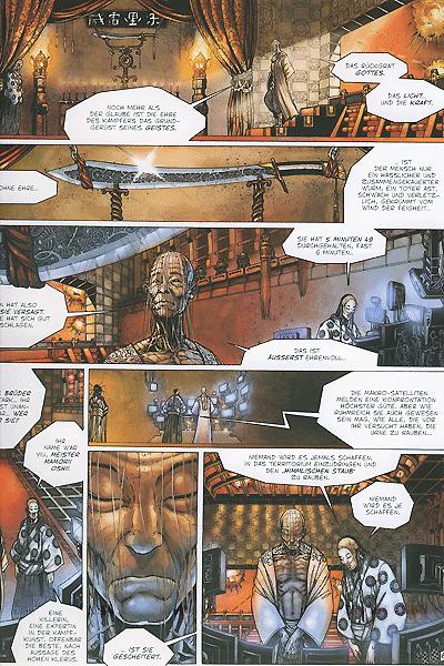 Leseprobe von Yiu, Band 2 - Die Auferstehung des Unreinen