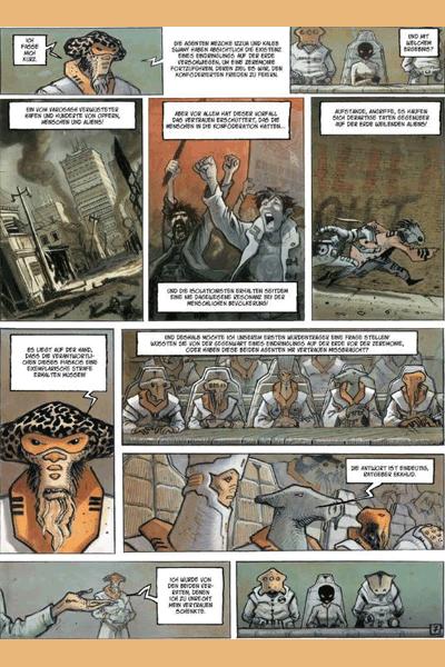 Zweite Leseprobe von Orbital, Band 3.1 - Gerechtigkeit