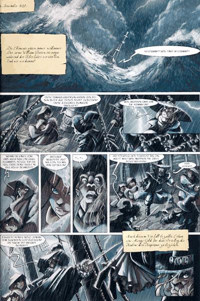 Leseprobe 2 von Luuna Comic, Band 7 - Der Ursprung der Zeit