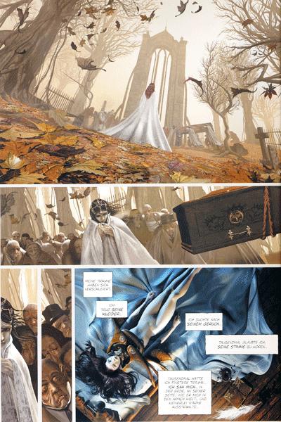 Leseprobe 2 von Der Engel & der Drache, Band 1 - Und der Tod wird nur ein Versprechen sein