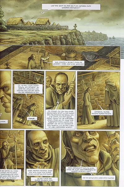 Leseprobe von Die Druiden, Band 1 - Das Geheimnis des Oghams