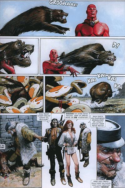 Leseprobe von Storm, Band 19 - Die Rückkehr des Roten Prinzen