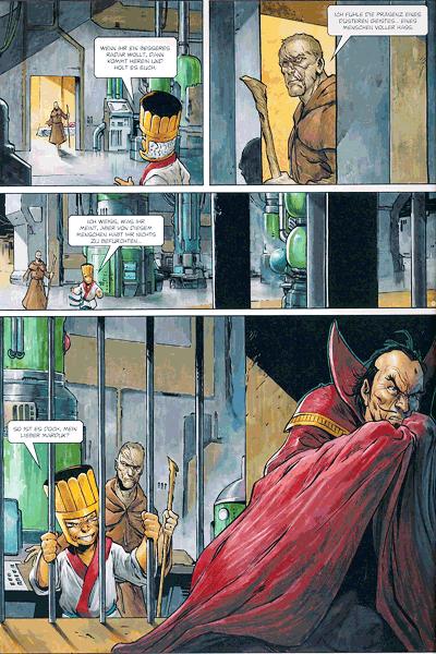Leseprobe 1 von Storm Comic, Band 32 - Das Opfer von Narvatica
