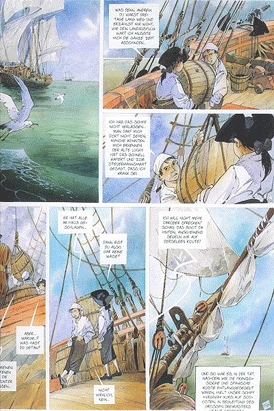Leseprobe 1 von Canoe Bay, Einzelband - (Krieg zwischen Franzosen und Indianern)