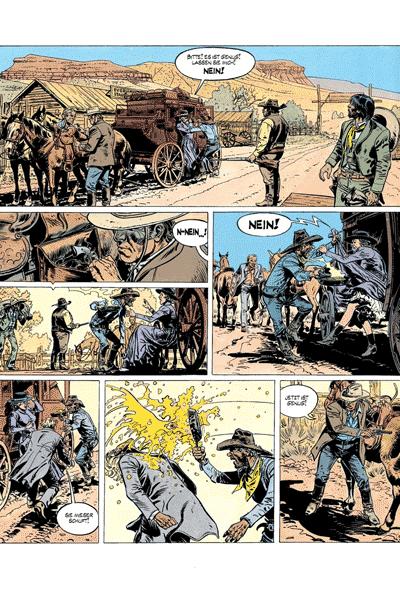 Leseprobe von Comanche, Band 11 - Die Wilden