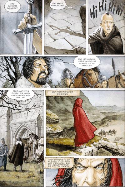 Leseprobe 3 von Ritter des verlorenen Landes, Band 1 - Morrigan