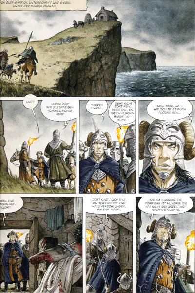 Leseprobe 4 von Ritter des verlorenen Landes, Band 1 - Morrigan