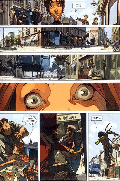 Leseprobe von Die Vier von der Baker Street, Band 1 - Das Geheimnis des Blauen Vorhangs