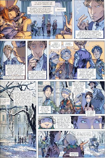 Leseprobe 2 von Die Vier von der Baker Street, Band 3 - Die Nachtigall von Stepney