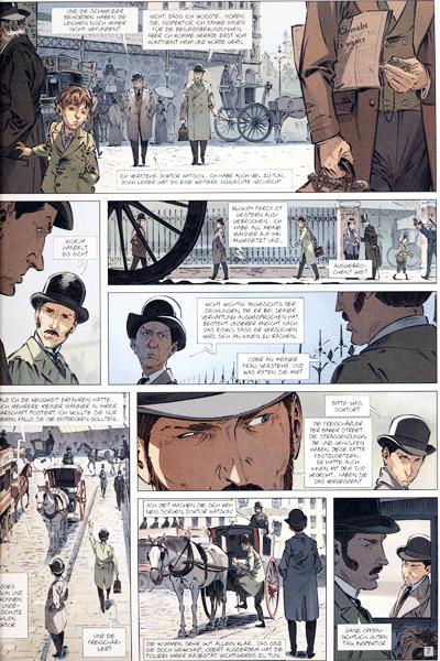 Leseprobe 1 von Die Vier von der Baker Street, Band 4 - Die Waisen von London