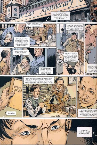 Leseprobe 1 von Die Vier von der Baker Street, Band 8 - Die Herren von Limehouse