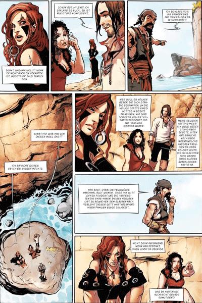 Leseprobe von ANGOR, Band 3 - Die Insel des Heiligtums