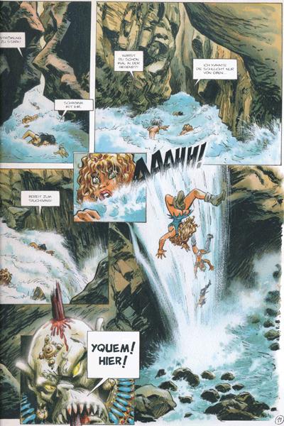 Leseprobe 1 von Die Kriegerinnen von Troy, Band 2 - Das Gold der Tiefe
