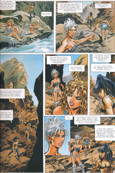 Leseprobe 2 von Die Kriegerinnen von Troy, Band 2 - Das Gold der Tiefe