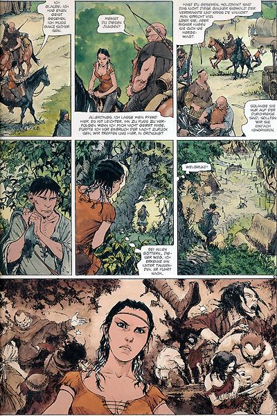Leseprobe von Die Welten von Thorgal | Kriss de Valnor, Band 2 - Das Urteil der Walk�ren