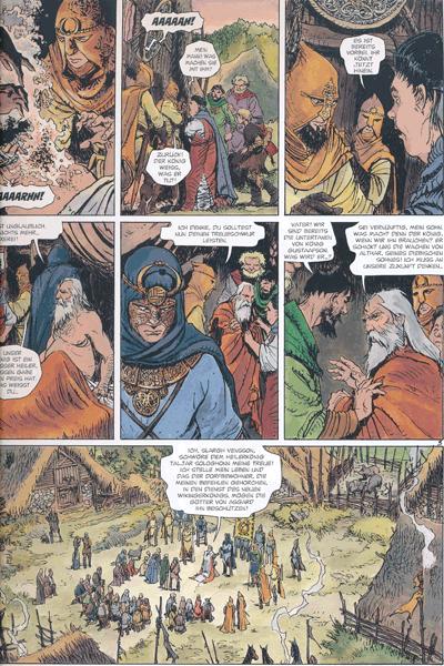 Leseprobe 1 von Die Welten von Thorgal | Kriss de Valnor, Band 3 - Einer K�nigin w�rdig